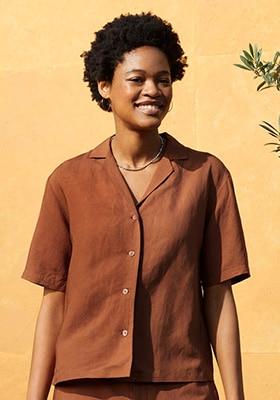 Linen Shirts & Blouses