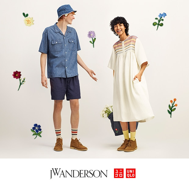 UNIQLO AND JW ANDERSON | AVAILABLE APRIL 22ND