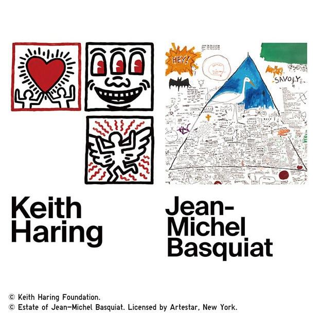 KEITH HARING & JEAN-MICHEL BASQUIAT: CROSSING LINES