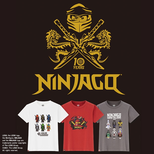LEGO® NINJAGO® 10TH ANNIVERSARY UT COLLECTION