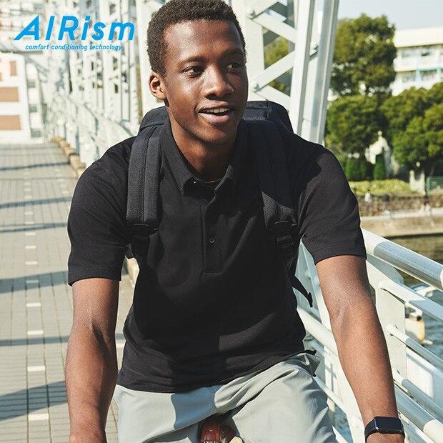 AIRism PIQUÉ POLOSHIRT