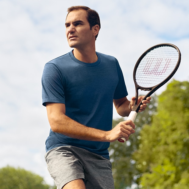 ENDORSED BY ROGER FEDERER