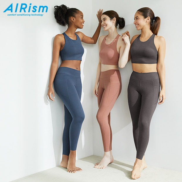 AIRISM ACTIVE SOFT LEGGINGS MIT UV-SCHUTZ