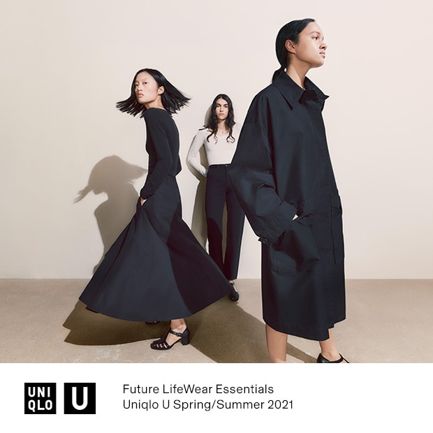UNIQLO U SPRING/SUMMER 2021 | AVAILABLE 7AM JANUARY 28TH