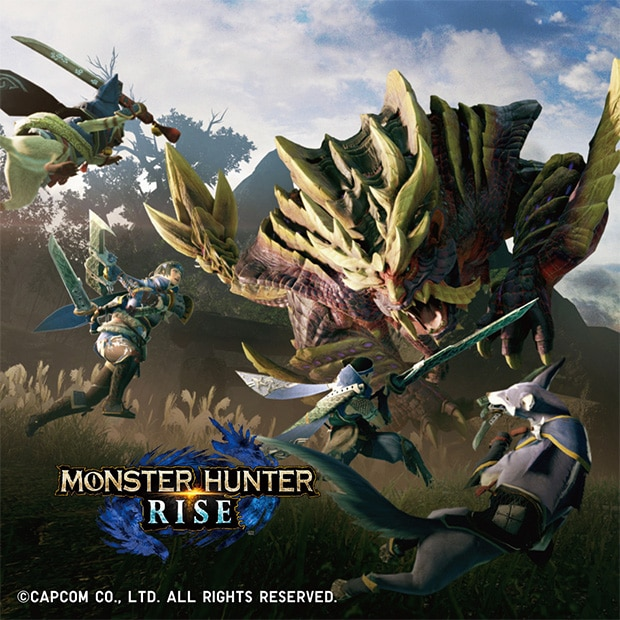 AVAILABLE NOW | MONSTER HUNTER RISE
