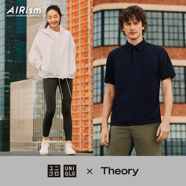 UNIQLO X THEORY | NOW AVAILABLE