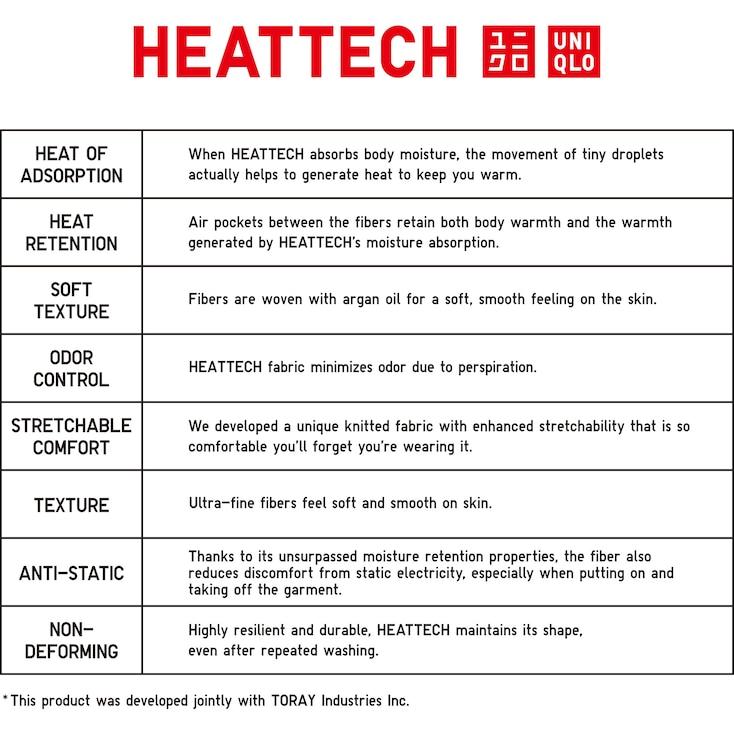 Women Heattech Scoop Neck T-Shirt, Black, Large