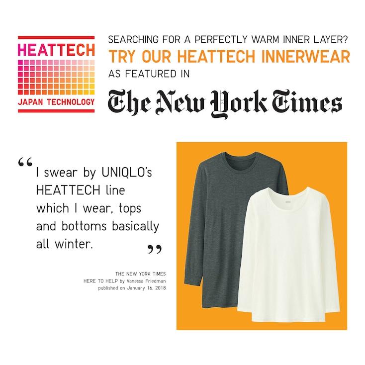 Women Heattech Leggings, Navy, Large