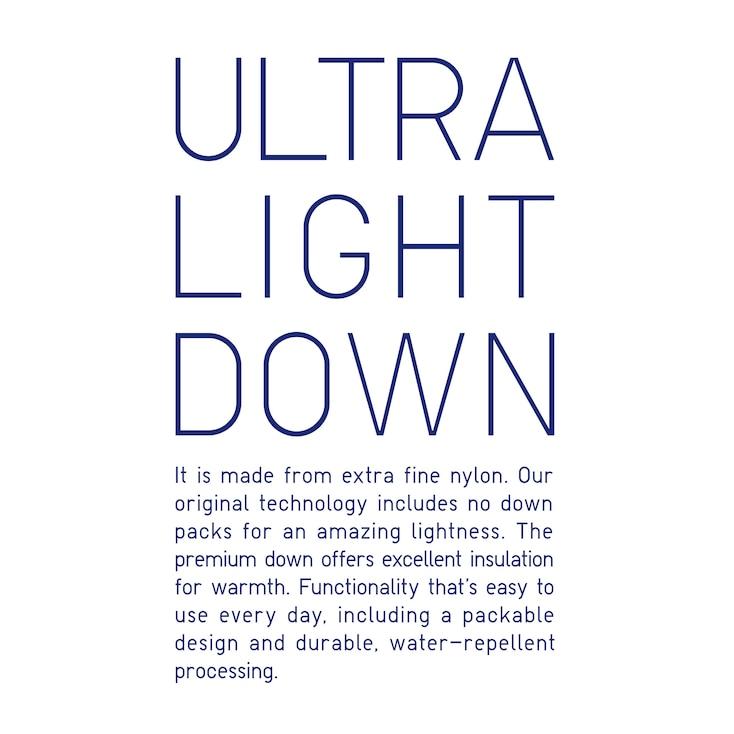 Women Ultra Light Down Seamless Parka, Black, Large
