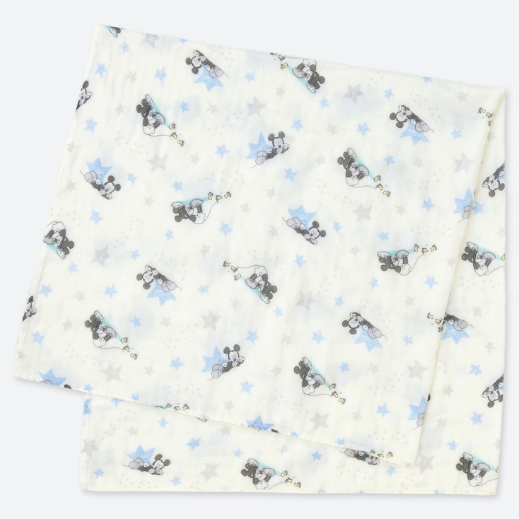 BABY DISNEY COLLECTION SWADDLE, WHITE, large