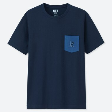 MICKEY BLUE UT (SHORT-SLEEVE GRAPHIC T-SHIRT), NAVY, medium