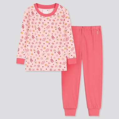 TODDLER LONG-SLEEVE PAJAMAS, PINK, medium