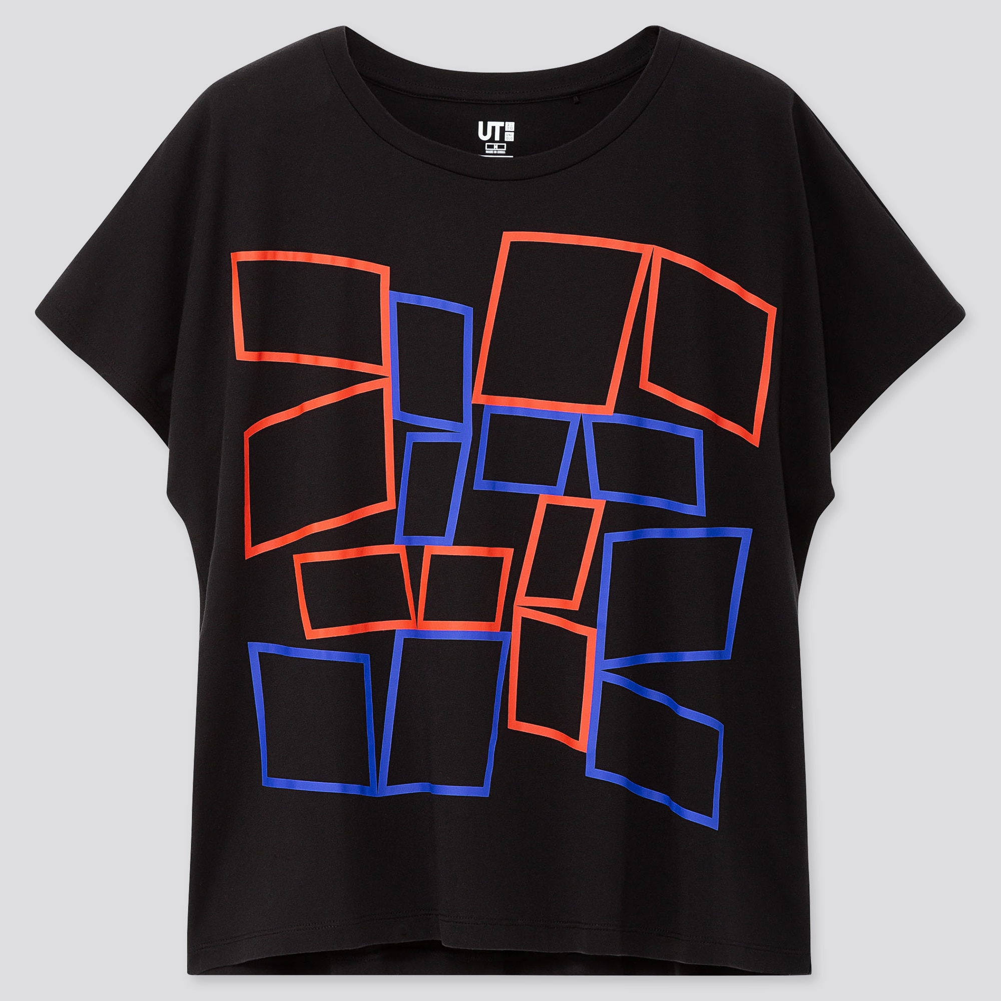 WOMEN COLOR AND RHYTHM UT HELIO OITICICA (SHORT-SLEEVE GRAPHIC T-SHIRT)
