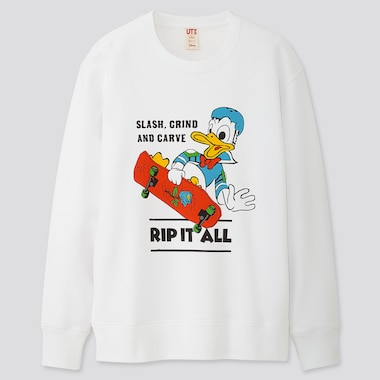 MICKEY ART KOICHIRO TAKAGI LONG-SLEEVE SWEATSHIRT, WHITE, medium
