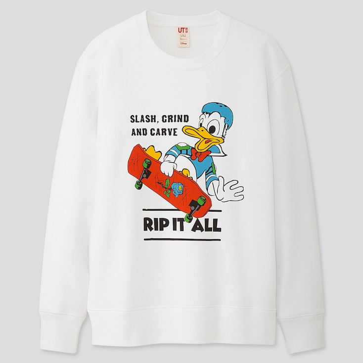 MICKEY ART KOICHIRO TAKAGI LONG-SLEEVE SWEATSHIRT, WHITE, large