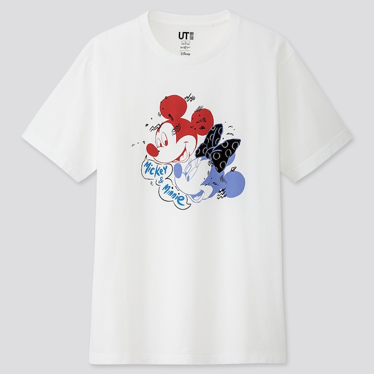 MICKEY ART UT DANNY SANGRA (SHORT-SLEEVE GRAPHIC T-SHIRT), WHITE, large