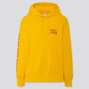 MARVEL LONG-SLEEVE HOODED SWEATSHIRT, YELLOW, medium