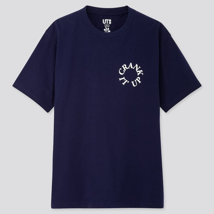Rise Again By Verdy Ut (short-sleeve Graphic T-shirt), Navy, Large