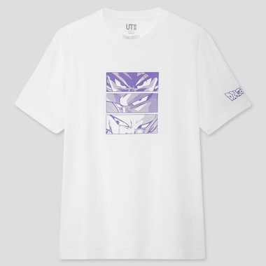 DRAGON BALL UT KOSUKE KAWAMURA (SHORT-SLEEVE GRAPHIC T-SHIRT), WHITE, medium