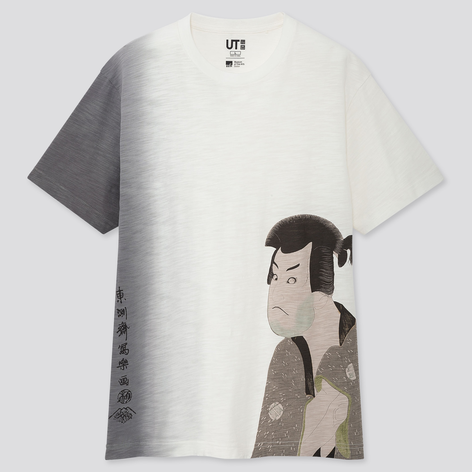 EDO UKIYO-E UT TOSHUSAI SHARAKU (SHORT-SLEEVE GRAPHIC T-SHIRT)