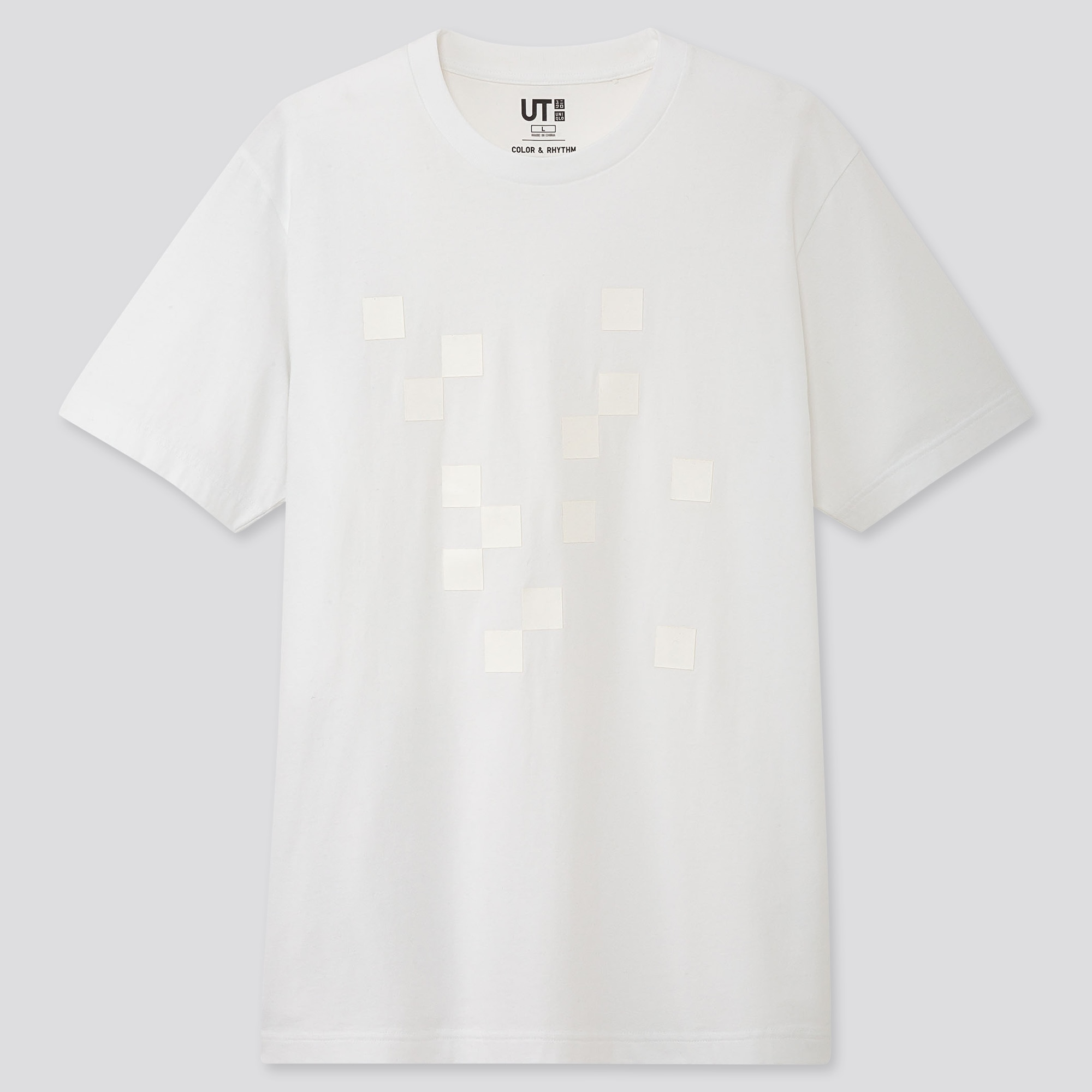 COLOR AND RHYTHM UT LYGIA PAPE (SHORT-SLEEVE GRAPHIC T-SHIRT)