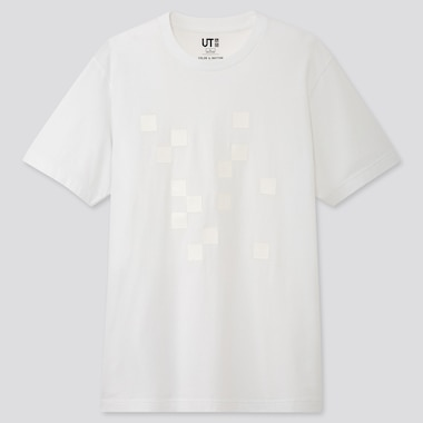 COLOR AND RHYTHM UT LYGIA PAPE (SHORT-SLEEVE GRAPHIC T-SHIRT), WHITE, medium