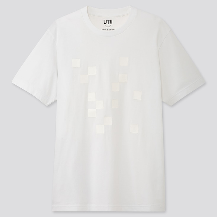 Color And Rhythm Ut Lygia Pape (short-sleeve Graphic T-shirt), White, Large