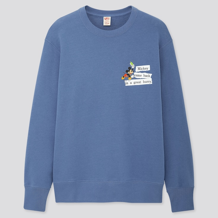 Disney Stories Long-Sleeve Sweatshirt, Blue, Large