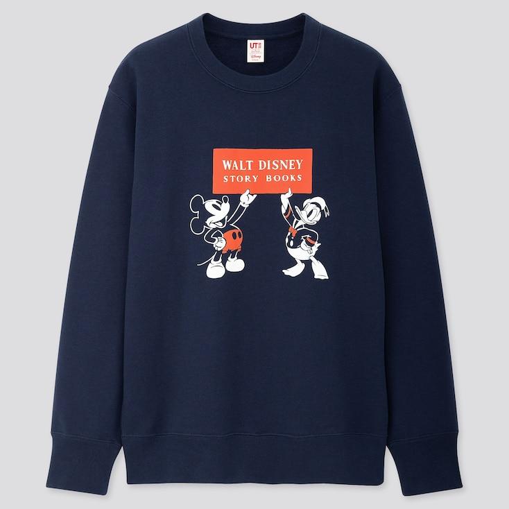 Disney Stories Long-Sleeve Sweatshirt, Navy, Large