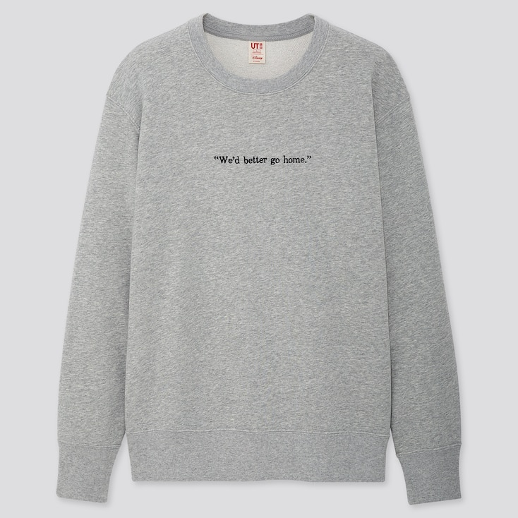 Disney Stories Long-Sleeve Sweatshirt, Gray, Large