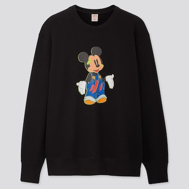Disney Stories Long-Sleeve Sweatshirt, Black, Medium