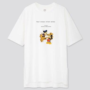 Women Disney Stories Ut (Short-Sleeve Oversized T-Shirt), White, Medium