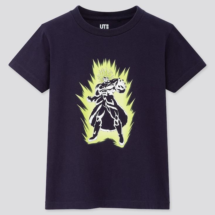 Kids Dragon Ball Ut (short-sleeve Graphic T-shirt), Navy, Large