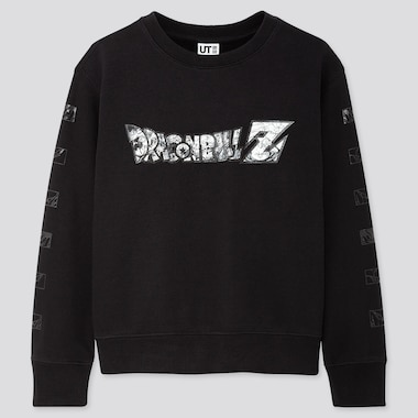 Kids Dragon Ball Kosuke Kawamura Long-Sleeve Sweatshirt, Black, Medium