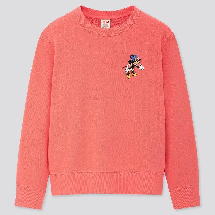 Kids Disney Stories Long-Sleeve Sweatshirt, Pink, Large