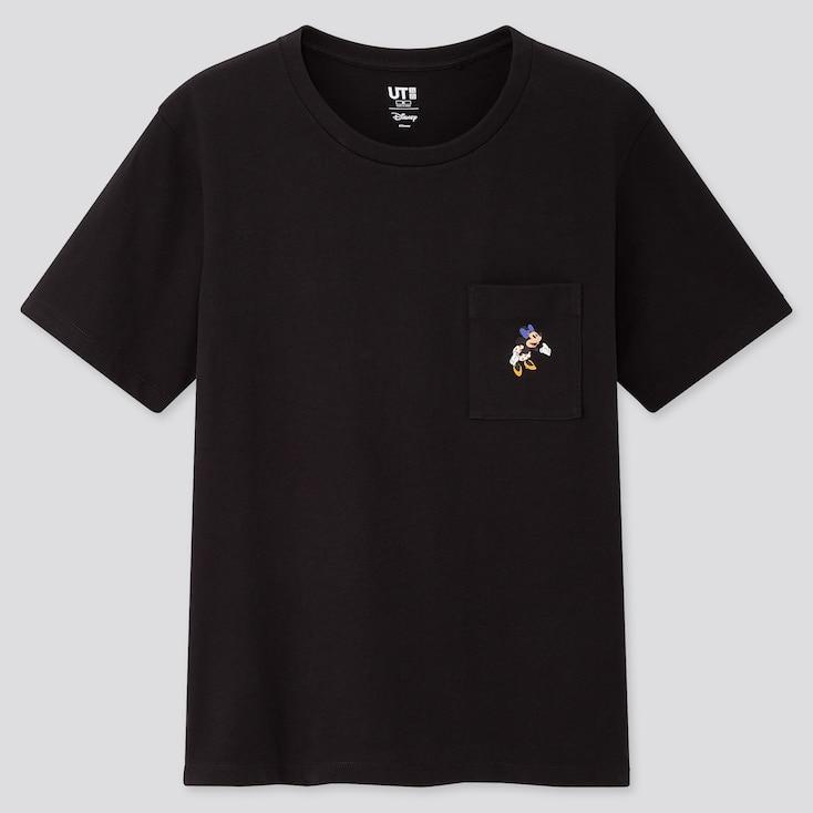 Women Disney Stories Ut (Short-Sleeve Graphic T-Shirt), Black, Large