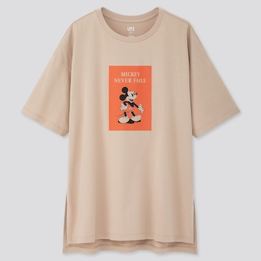 Women Disney Stories Ut (Short-Sleeve Oversized T-Shirt), Natural, Medium