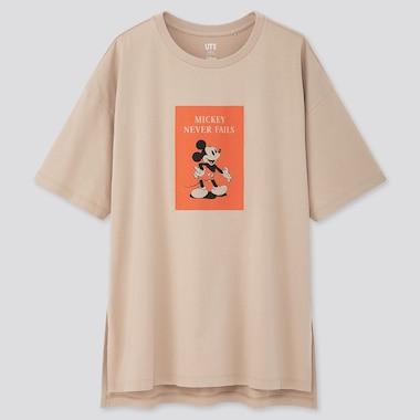 Women Disney Stories Ut (Short-Sleeve Oversized T-Shirt), Natural, Medium