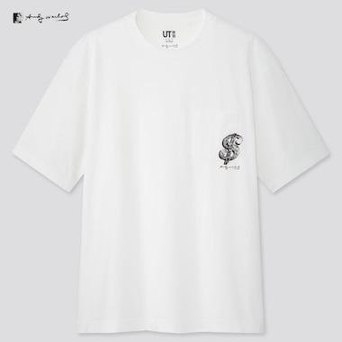 Andy Warhol Ut (Short-Sleeve Graphic T-Shirt), White, Medium