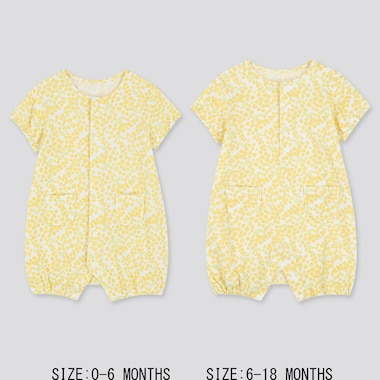 Newborn Shortalls, Yellow, Medium