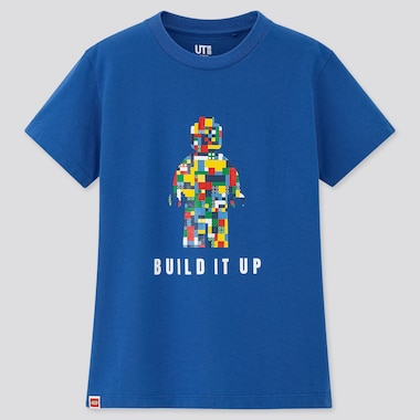 Kids Lego© Ut (Short-Sleeve Graphic T-Shirt), Blue, Medium