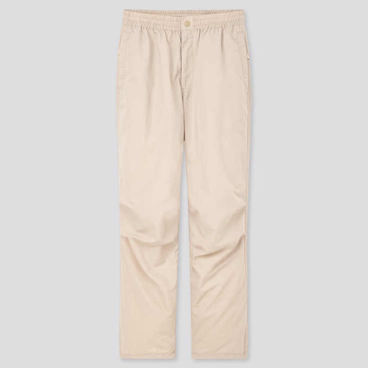 Women Minnie Ambush Relaxed Ankle Pants, Natural, Large