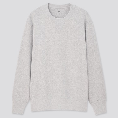 Long-Sleeve Sweatshirt, Gray, Medium