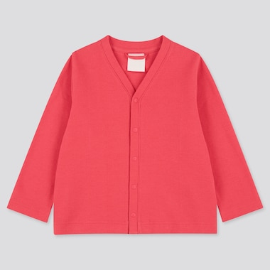 Toddler Long-Sleeve Cardigan (Online Exclusive), Red, Medium