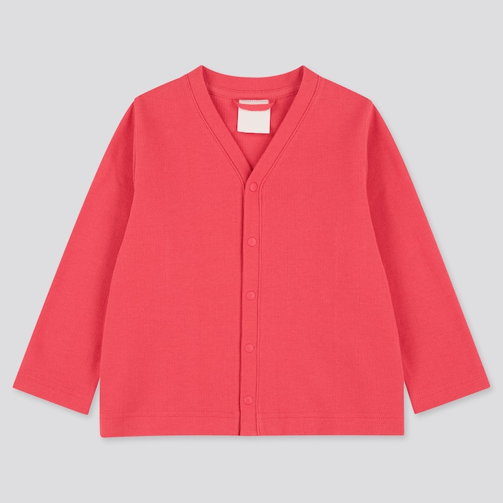 Toddler Long-Sleeve Cardigan (Online Exclusive), Red, Large