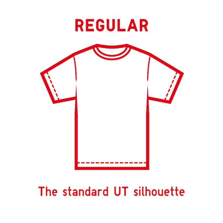 Keith Haring Ut (Short-Sleeve Graphic T-Shirt), Orange, Large