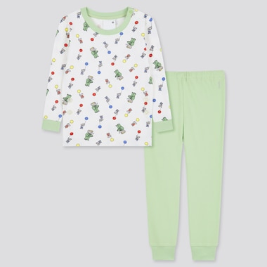 Toddler Eternal Characters Long-Sleeve Pajamas (Online Exclusive), Green, Medium