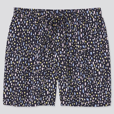 Women Cassie Byrnes Relaco Shorts, Navy, Medium