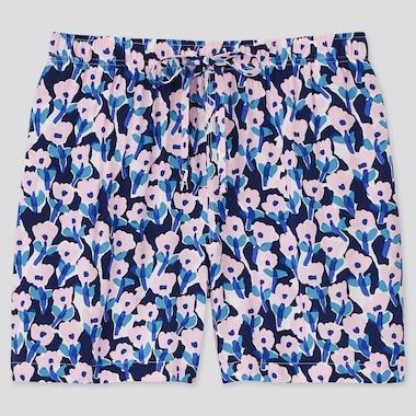 Women Cassie Byrnes Relaco Shorts, Blue, Medium