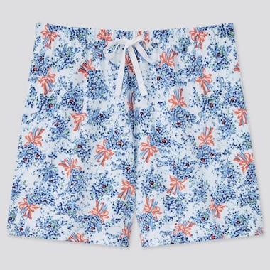Women Paul & Joe Lounge Shorts, Blue, Medium